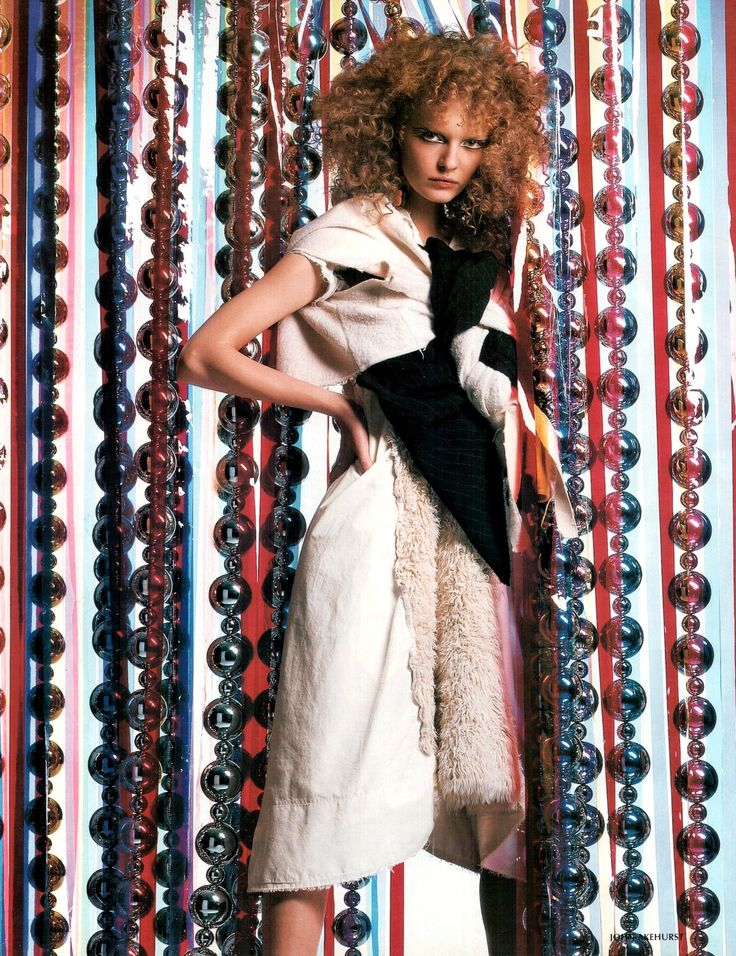 "Ksenia Maximova "" Psychodelic "" by John Akehurst Vogue Russia March 2003"