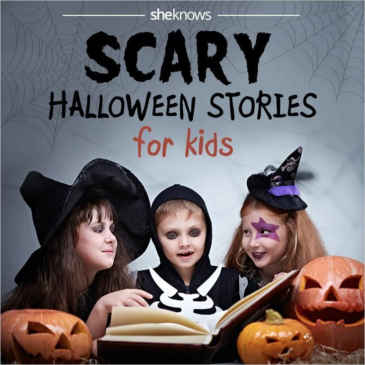 15 Best scary stories for kids with just the right amount of fright ... perfect for Halloween night!