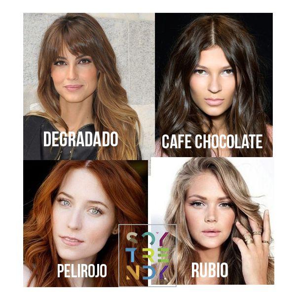 Los 4 colores más famosos para nuestro cabello