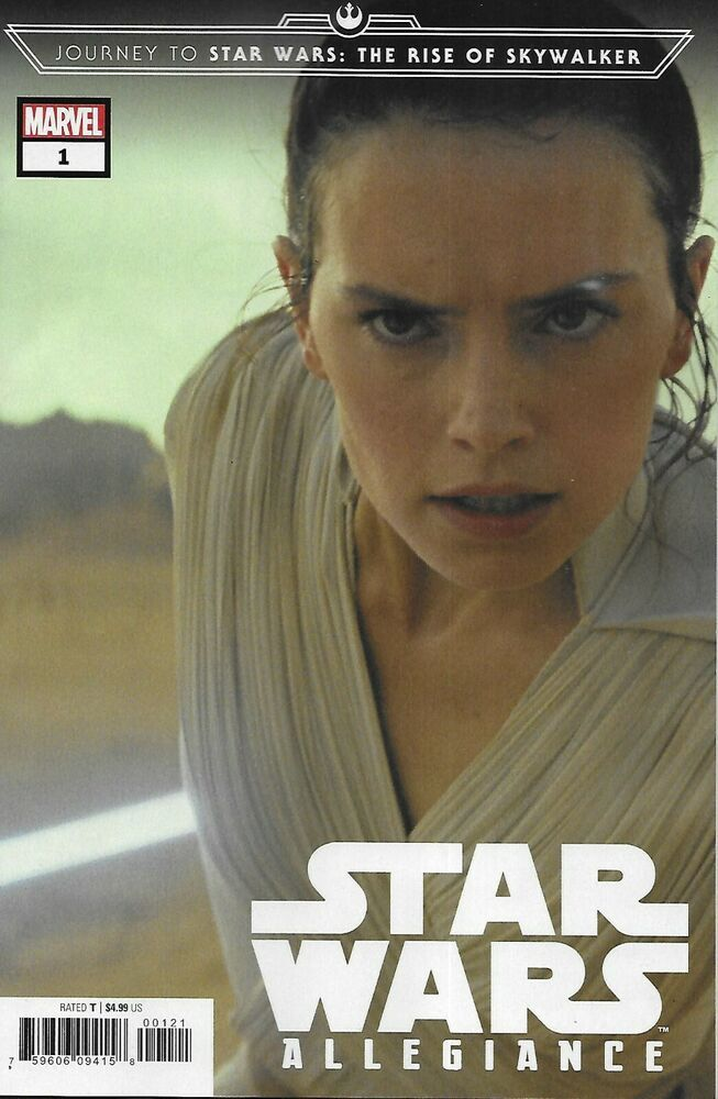 Journey To Star Wars Allegiance The Rise Of Skywalker Comic 1 Cover C Variant Star Wars Skywalker Allegiant