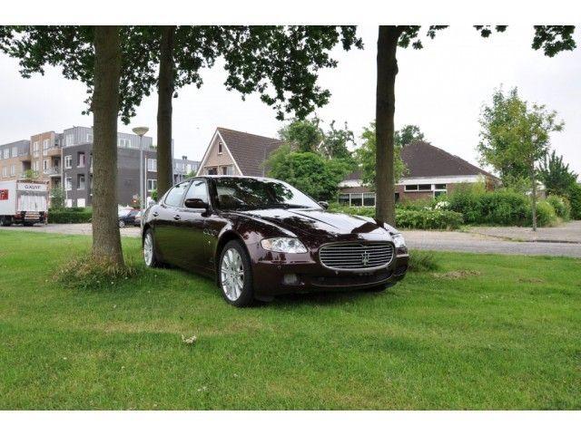 Speurders.nl: Maserati Quattroporte (bj 2007)