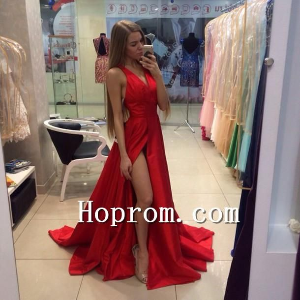 676145afeca 2018 A-Line Floor Length Prom Dress Evening Dresses in 2019