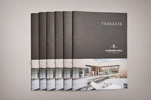 Mareiner Holz - corporate identity & design on the Behance Network — Designspiration
