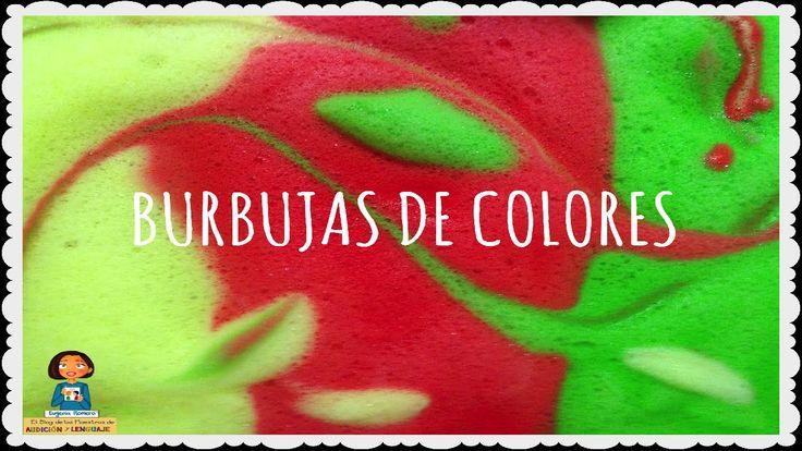 Burbujas de colores_Talleres multisensoriales