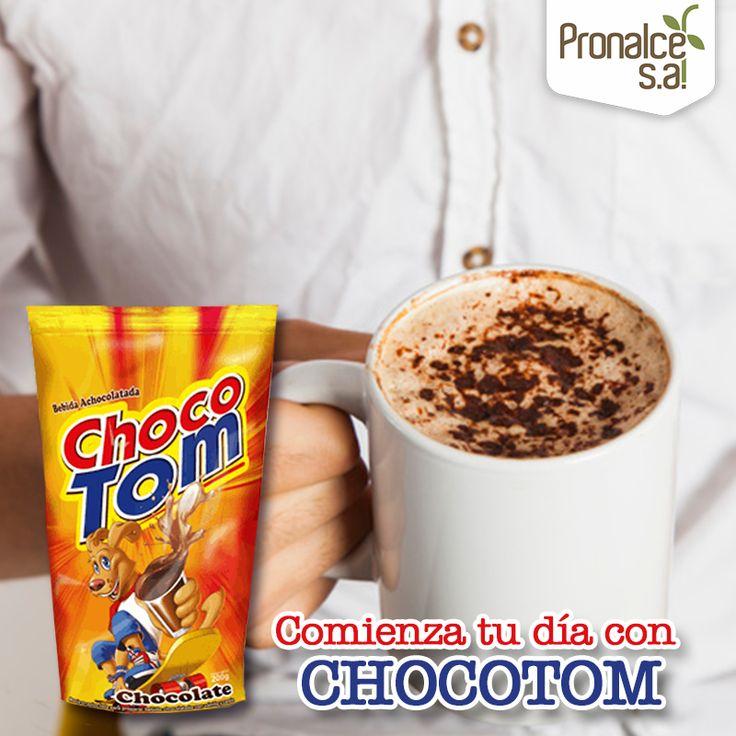 Nuestra bebida achocolatada #Chocotom viene lista para preparar, ¡con vainilla y canela! Prepárala caliente o fría y ¡comienza este gran día!#Pronalce #DelSur #Chocotom #cereal #breakfast #desayuno #avena #integral #salud #saludable #feliz #love #hojuelas #maiz #lonchera #snack #granola #frutosrojos #banano #deleitar #alimentos #granos