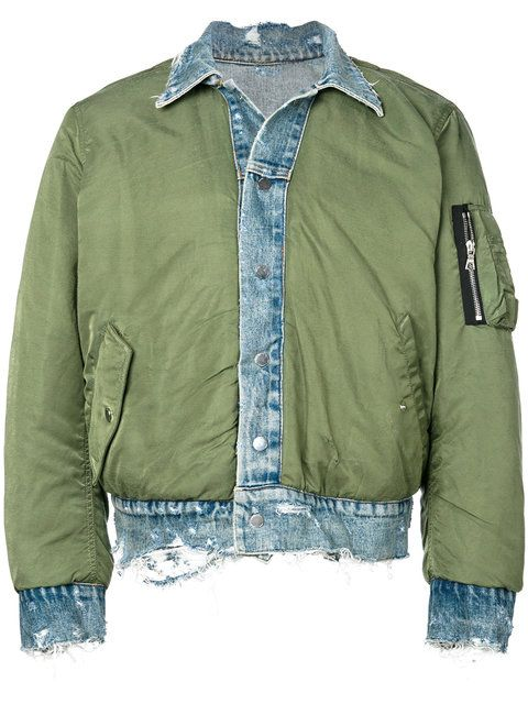 5364d8781ab AMIRI reversible trucker bomber jacket.  amiri  cloth