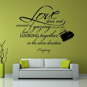 17 best Love stickers images on Pinterest | Wall clings, Wall ...