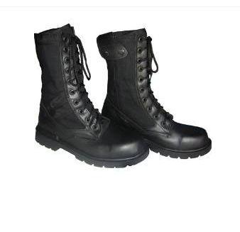 negras botas militares Converse hombre del no 8