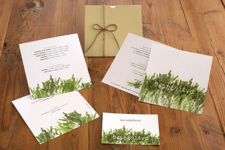 T&L   wedding invitation