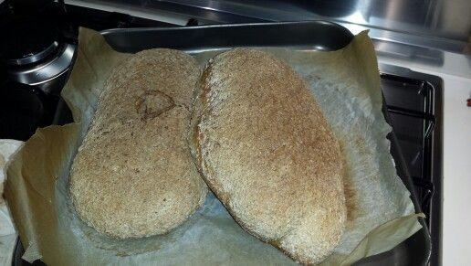 Pane integrale con il lievito madre fatto da me