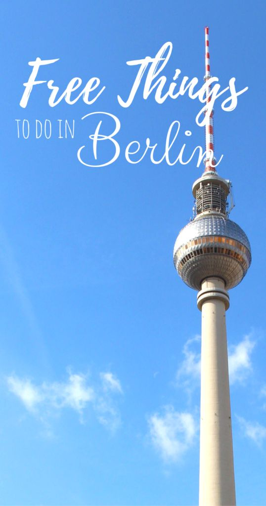17 Fun And Free Things To Do In Berlin - A Broken Backpack #Berlin #Germany #Europe #Travel Things to do in Berlin | Free things to do in Berlin | What to do in Berlin, Germany