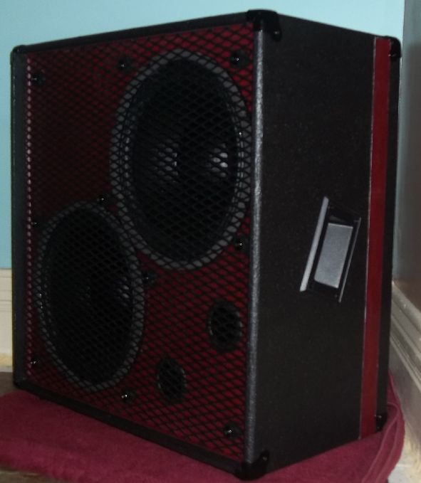 how to build a bass guitar speaker cabinet woodworking projects plans. Black Bedroom Furniture Sets. Home Design Ideas