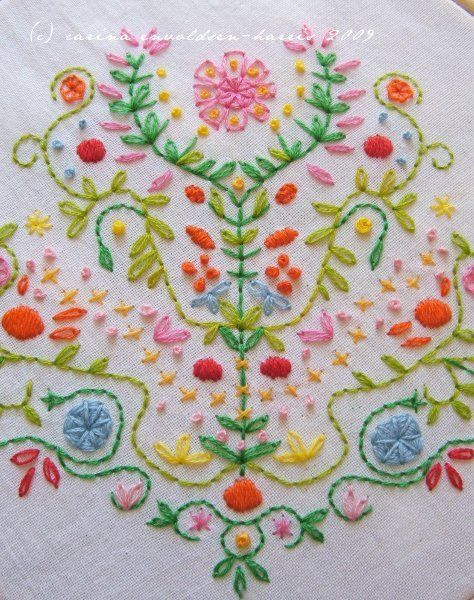 Mexican embroidery - would love to make this into a pillow