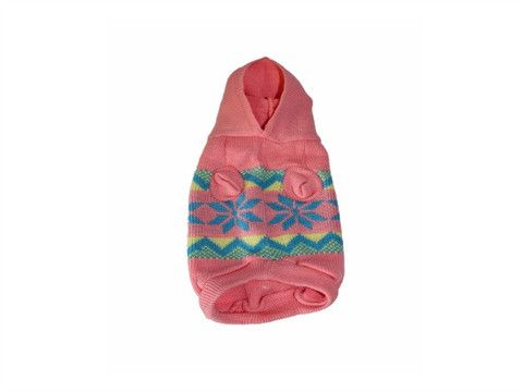 Retro Knitted Hoodie