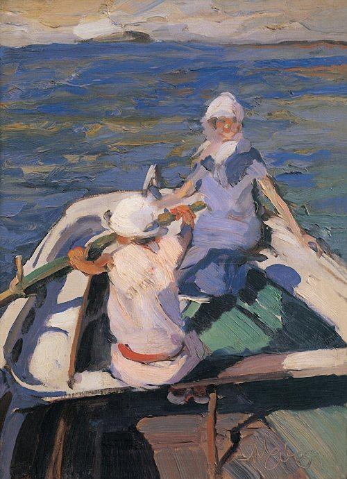 In the Boat  Nikolaos Lytras