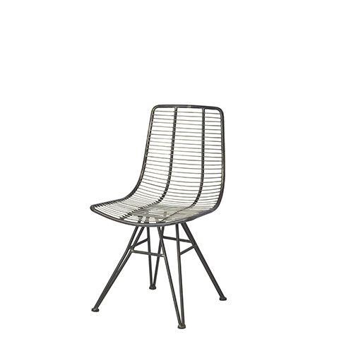 Bonita silla de metal de #Affari #estilonordico #sillas