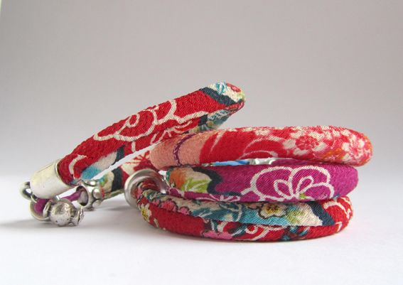 Bracelets Japanese II - tutorial; search the jewelry link