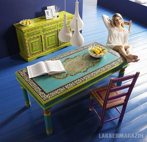 KARE Design, Ibiza kollekció - vidám, dekoratív, festett bútorok 3