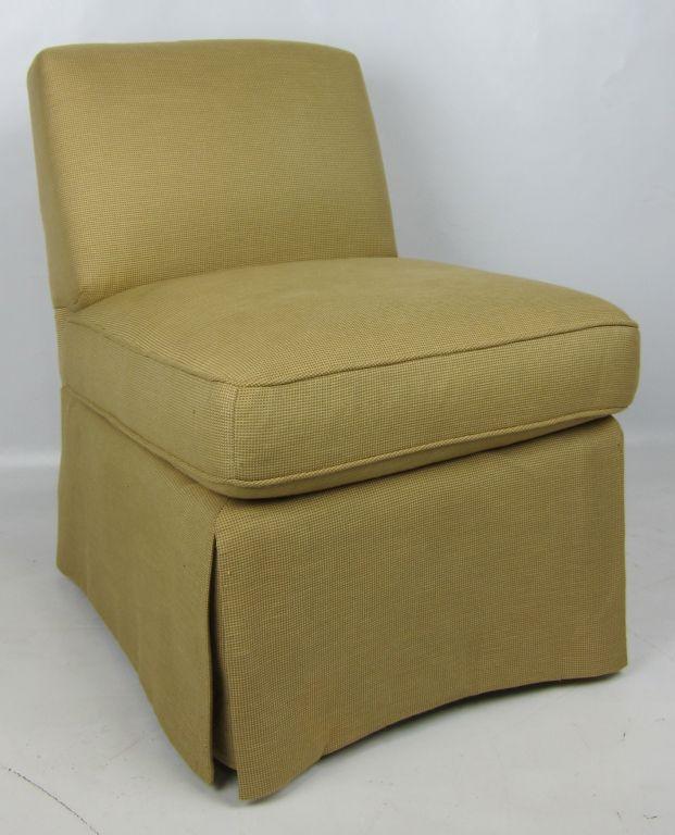 Pair Of Billy Baldwin Slipper Chairs