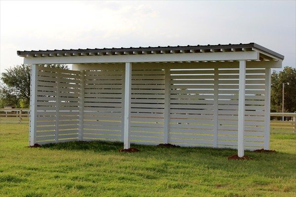 Do it yourself horse shelter ideas