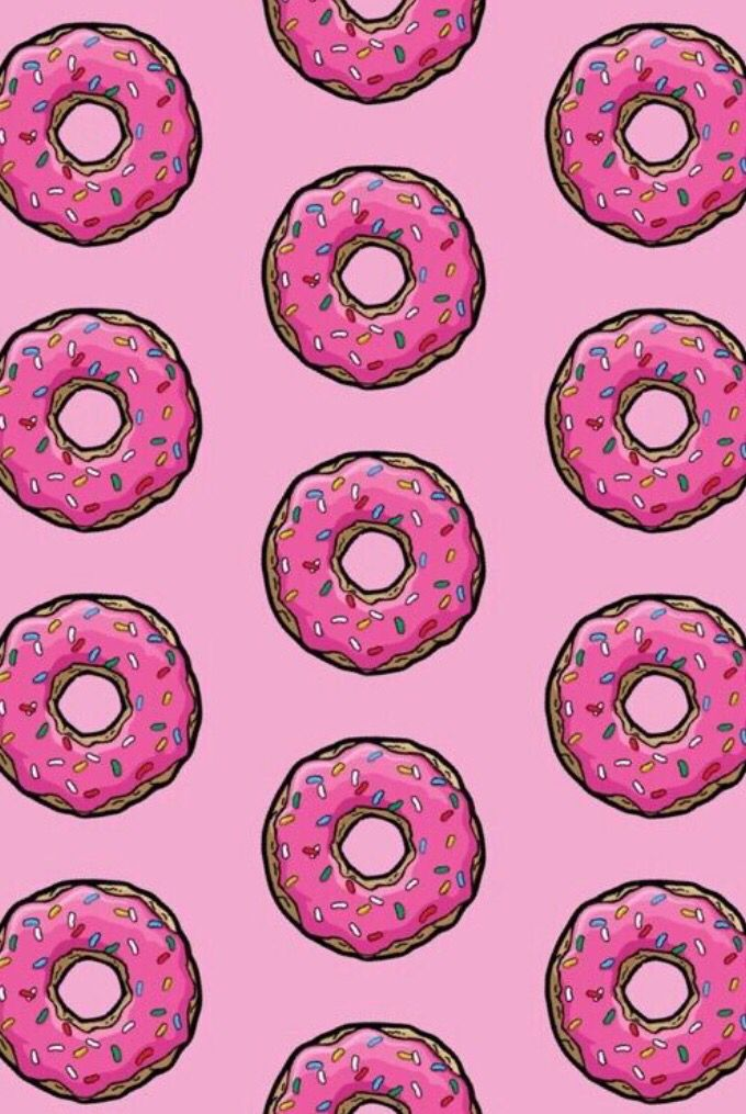 Simpsons donut Wallpapers Pinterest More Simpsons