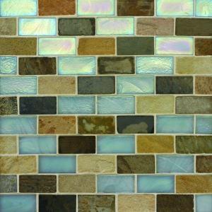 glass tile for backsplash?
