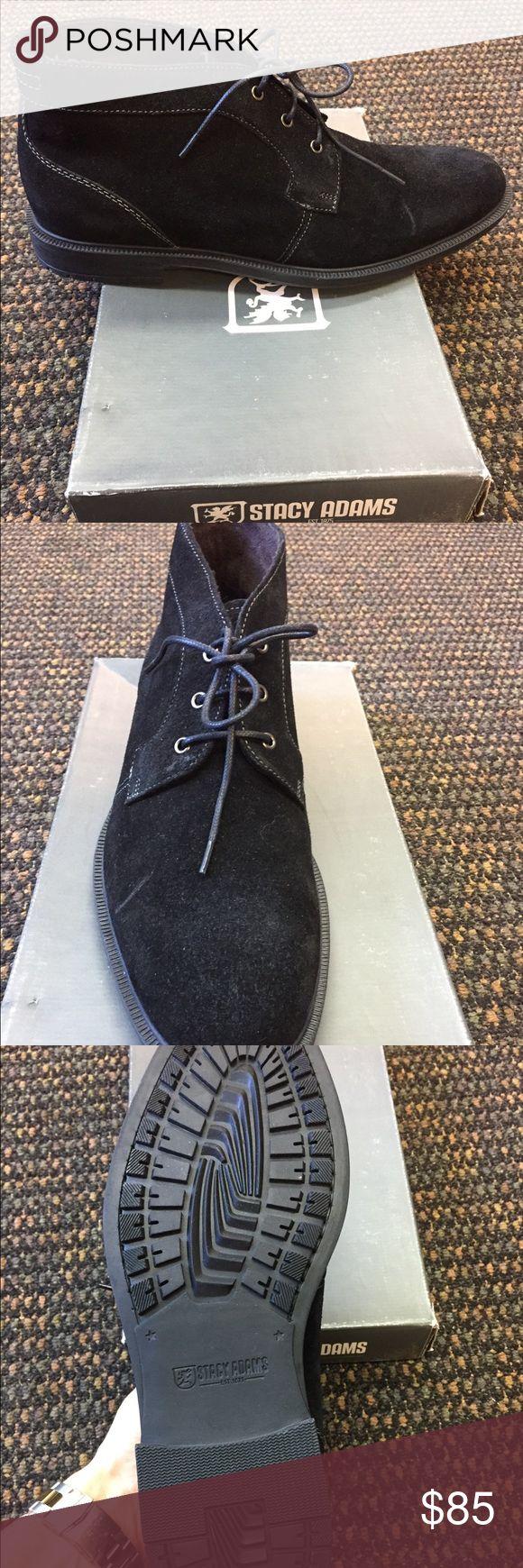 Stacy Adams Dabney Black Suede Chukka Boot - NWT Stacy Adams Dabney Black Suede Chukka Boot - NWT Stacy Adams Shoes Chukka Boots