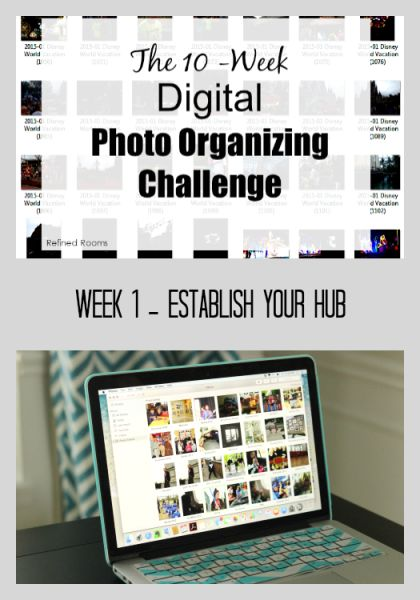 Week 1 – Establish Your Digital Photo Hub {Digital Photo Organizing Challenge}