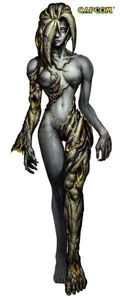 Resident evil monsters | Resident Evil Code: Veronica X Concept Art