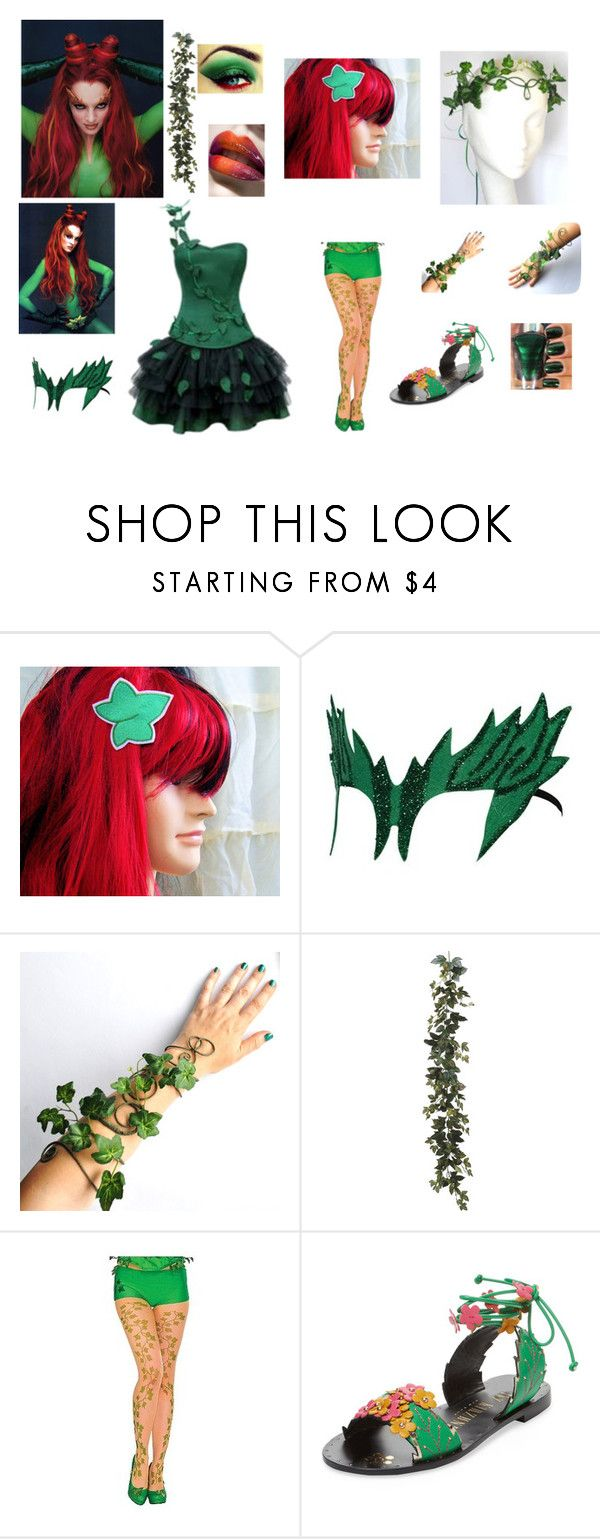 """""""Batman and Robin Movie"""" by md121728 on Polyvore featuring Wet n Wild and Ivy Kirzhner"""