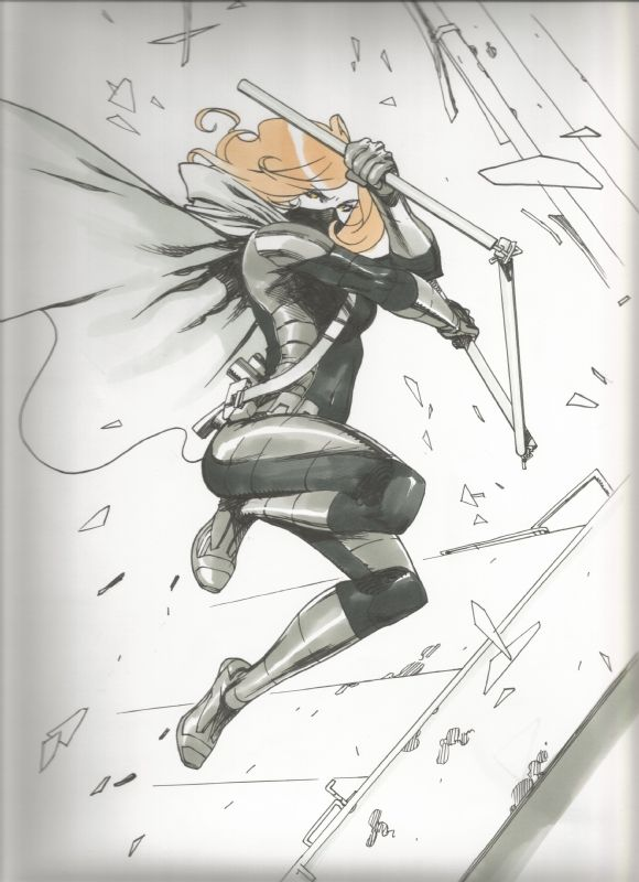 Spoiler (Stephanie Brown) - Bengal Comic Art