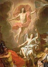 Warum feiern wir Ostern? Das bedeutendste Fest der Christen     Das Bild des französischen Barockmalers Noël Coypel (1628-1707) stellt die Auferstehung Jesu dar.