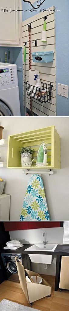 Clever Laundry Room
