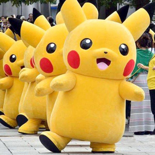 Pokemon Pikachu Mascot Costume Shut Up And Take My Yen : Anime & Gaming Merchandise