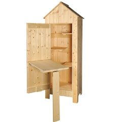 Buy Gardeners Tool Shed 2 x 6ft at Guaranteed Cheapest Prices with Rapid Delivery available now at Greenfingers.com, the UK's #1 Online Garden Centre.