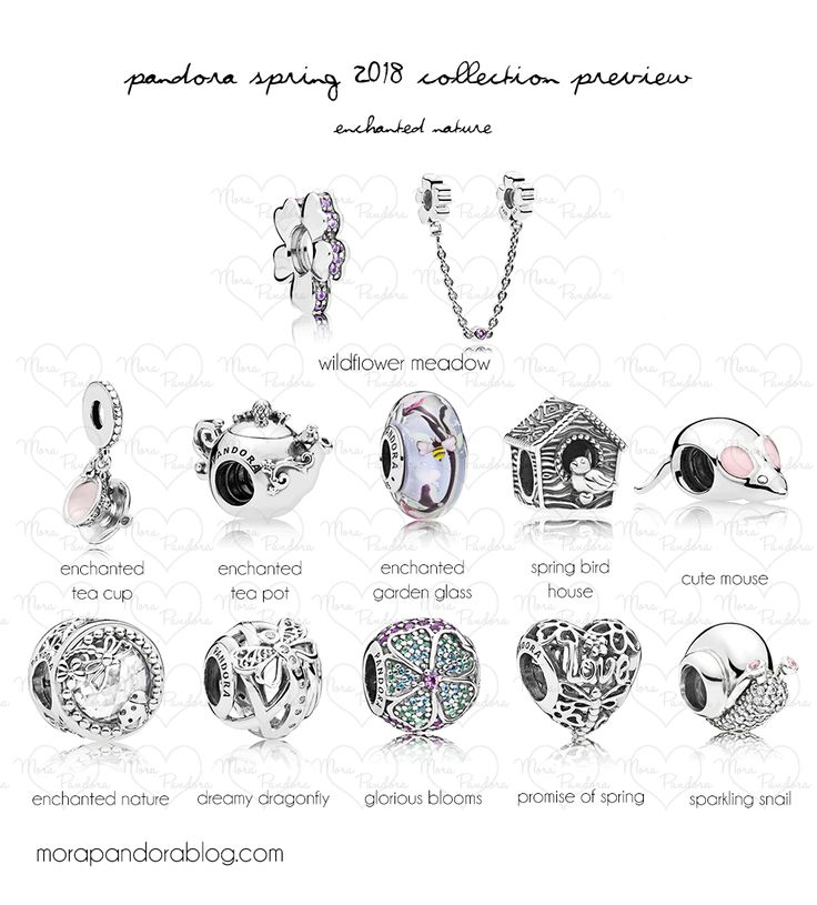 Pandora Spring 2018 collection preview