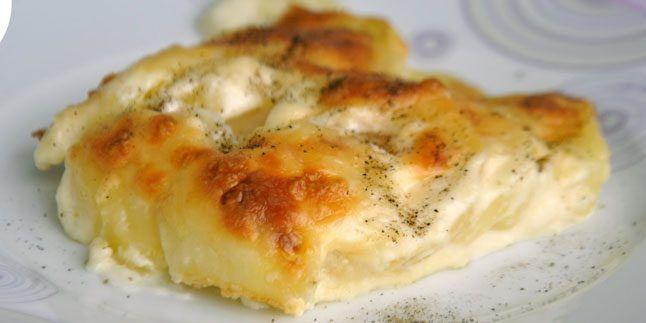Fırında Kremalı Patates Tarifi – Fırında Kremalı Patates Nasıl Yapılır?