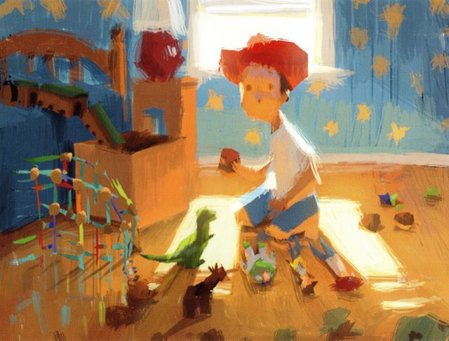 Toy Story 3 by Dice Tsutsumi