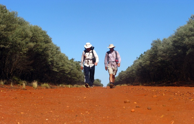 Retracing Lawson's historic path- Two brothers walk in footsteps of Henry Lawson's 1893 summer trek from Hungerford to Bourke and back.