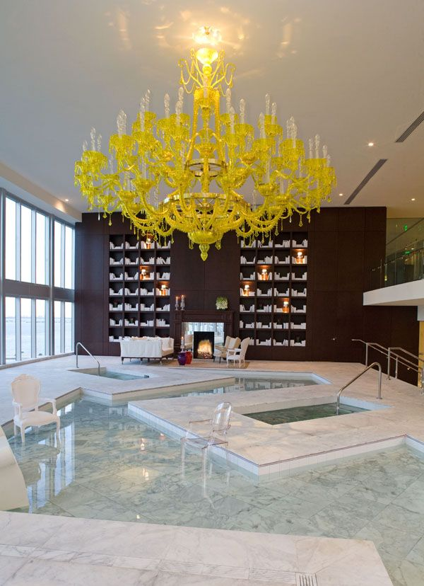 Design by Philipe Starck, Viceroy in Miami Looks like inspired by the Everglades.. That's nice.