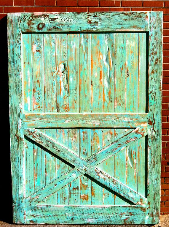19 best images about barn doors on pinterest for Distressed wood interior doors