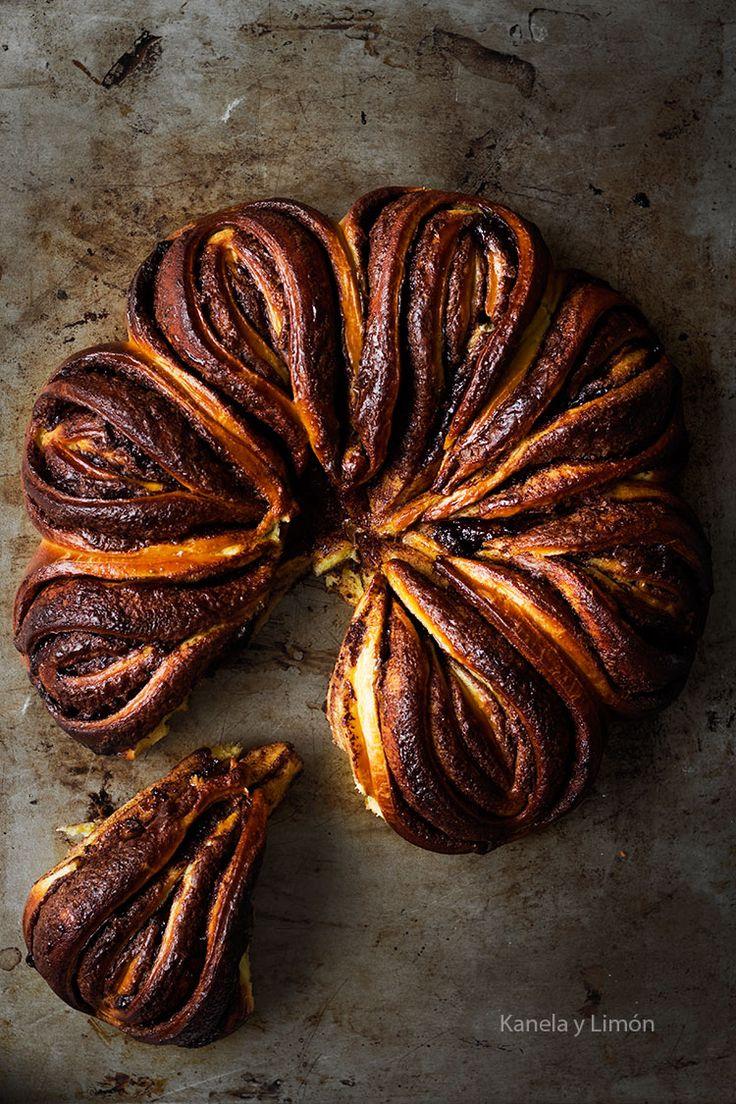 pumpkin nutella brioche