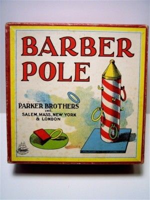 Early Parker Brothers Barber Pole game