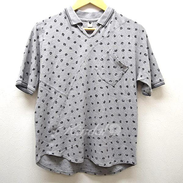 GANRYU レオパード変形ポロシャツ ガンリュウ - メンズ&レディースのブランド古着通販 カインドオンライン