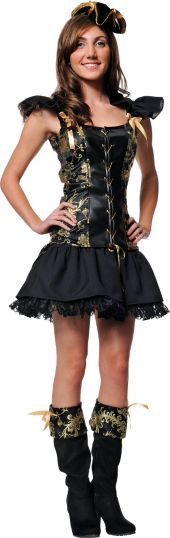 teen girls princess pirate costume party city - Teenage Girl Pirate Halloween Costumes