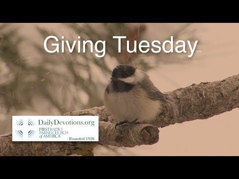1660 Giving Tuesday by Rev. Peter Panagore of DailyDevotions.org
