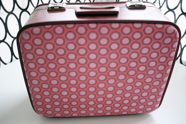 Decoupaged Vintage suitcaseVintage Suitcases