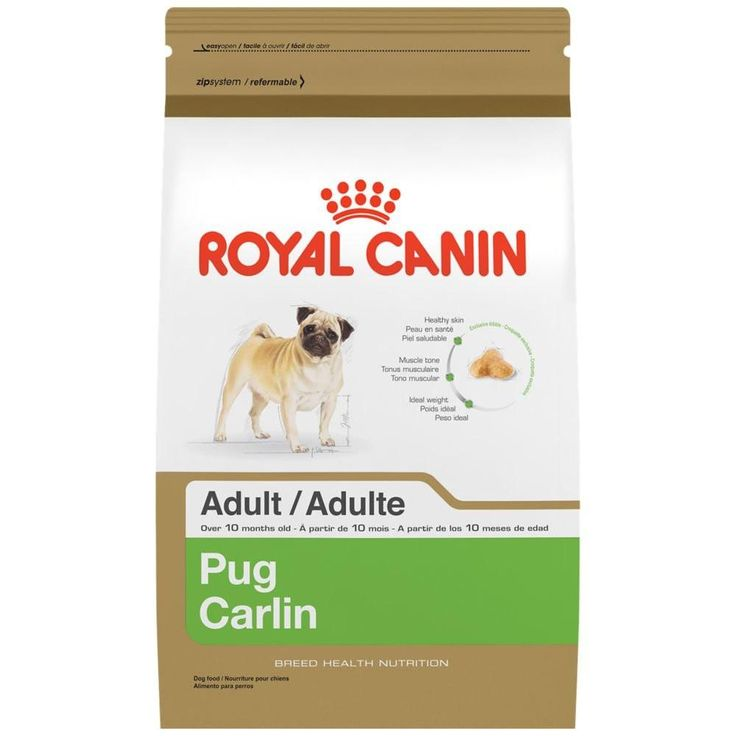 ROYAL CANIN BREED HEALTH NUTRITION Pug Adult dry dog food 10-Pound