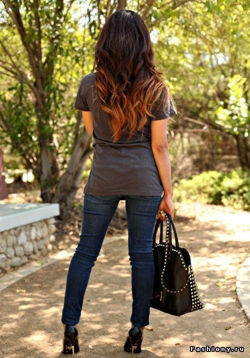 Эффект деграде на волосах - тенденция 2012 / деграде в домашних условиях