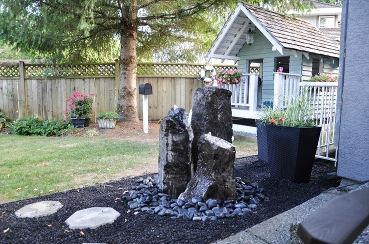 Install Your Own Backyard Water Feature Install In Under 3 Hours - We've been working on our backyard this year, and a water feature was…